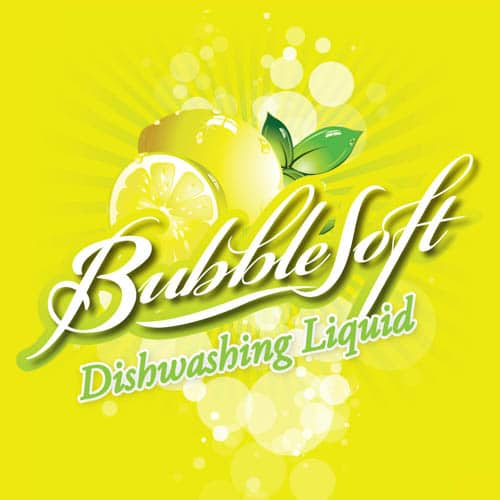 Bubblesoft Dishwashing Liquid Lemon