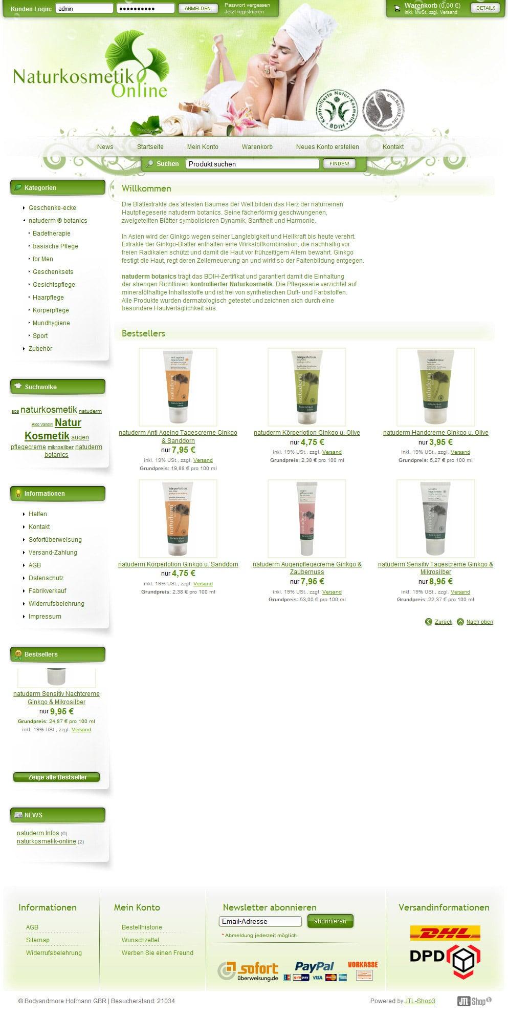 Naturkosmetik Online