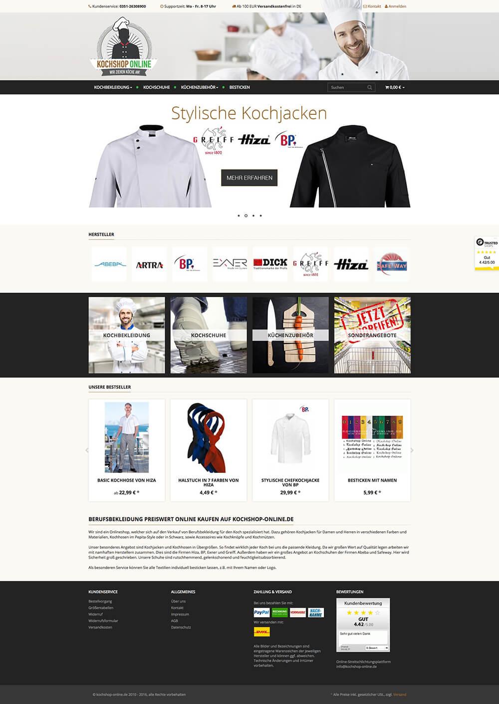 Kochshop Online