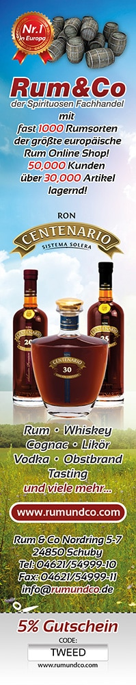 Rum & Co Zeitungsanzeige