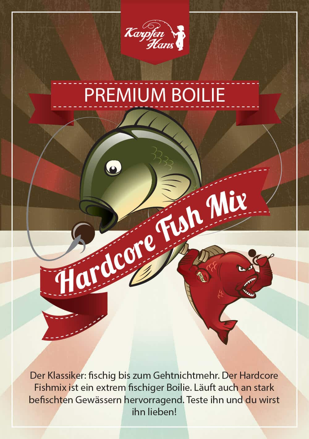 Hardcore Fish Mix