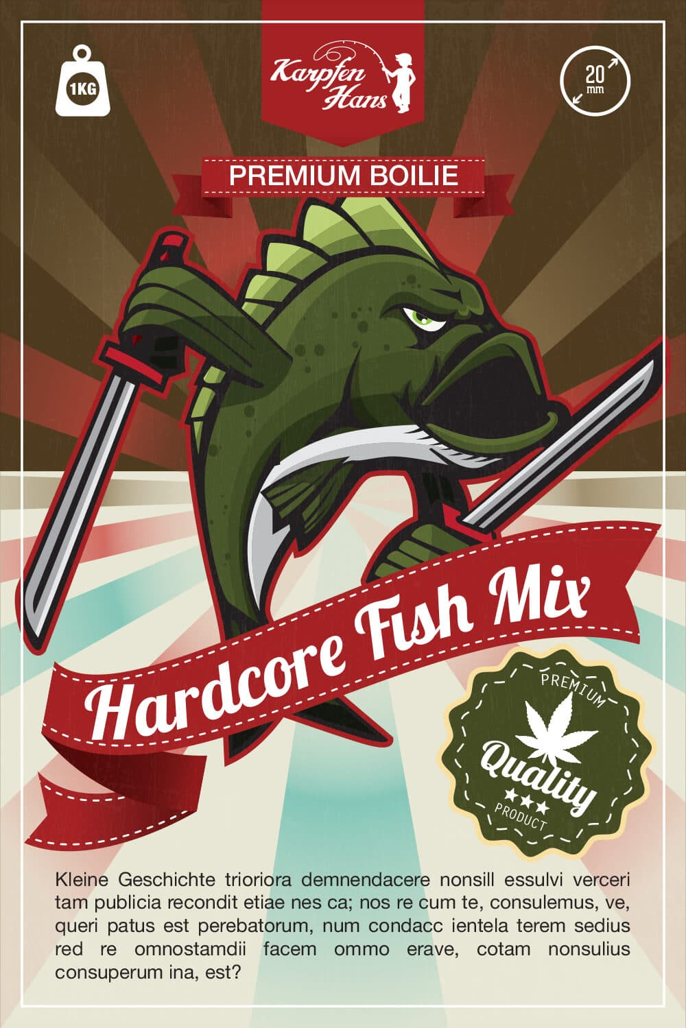 Hardcore Fish Mix Ver.2