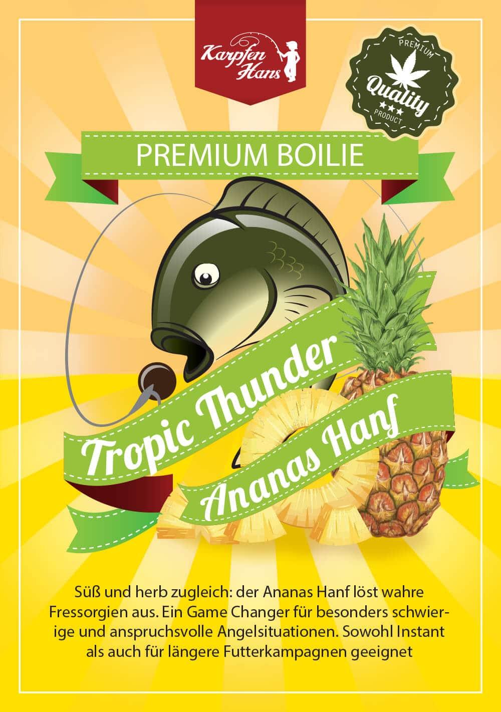 Tropic Thunder Ananas Hanf