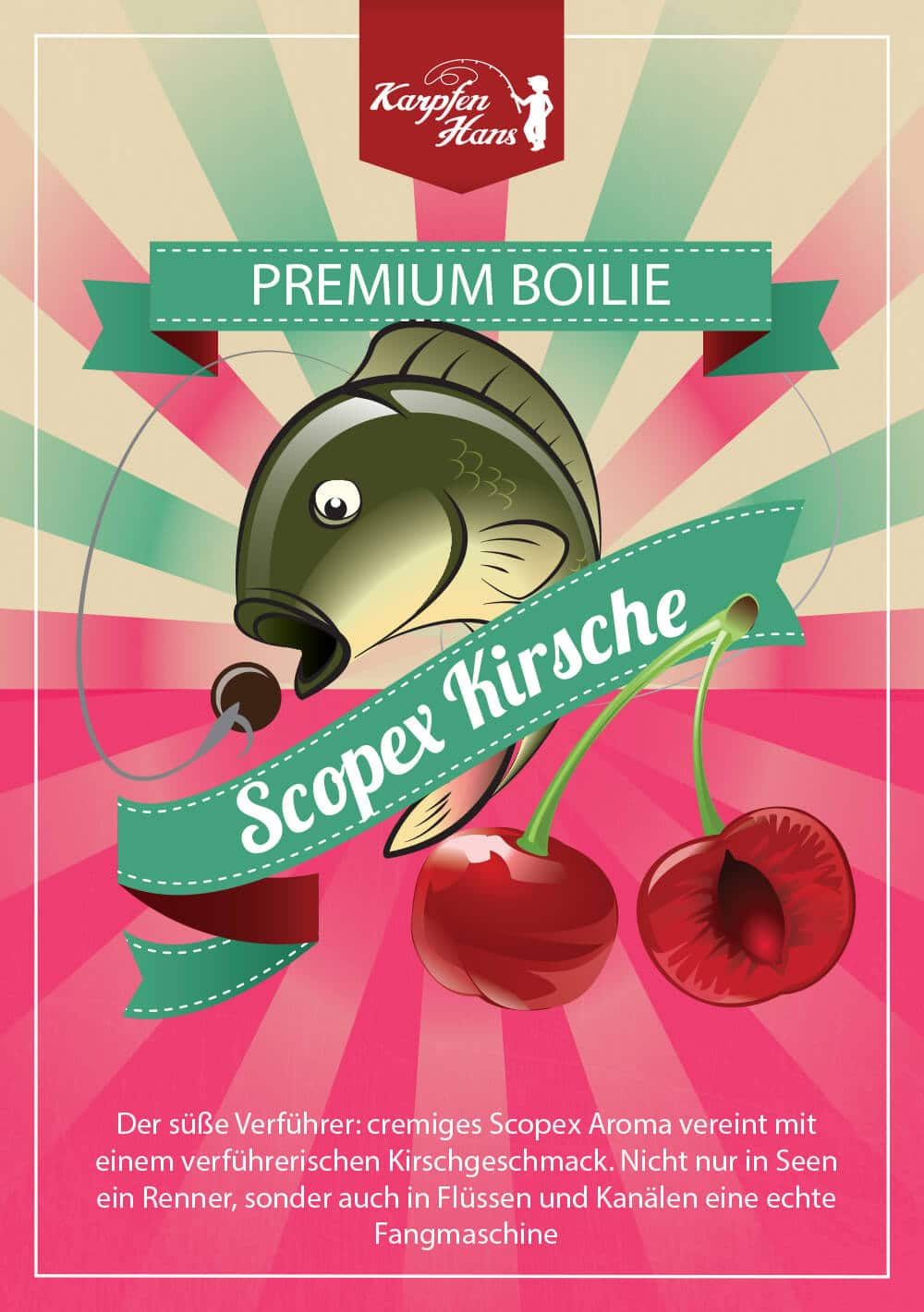 Scopex Kirsche