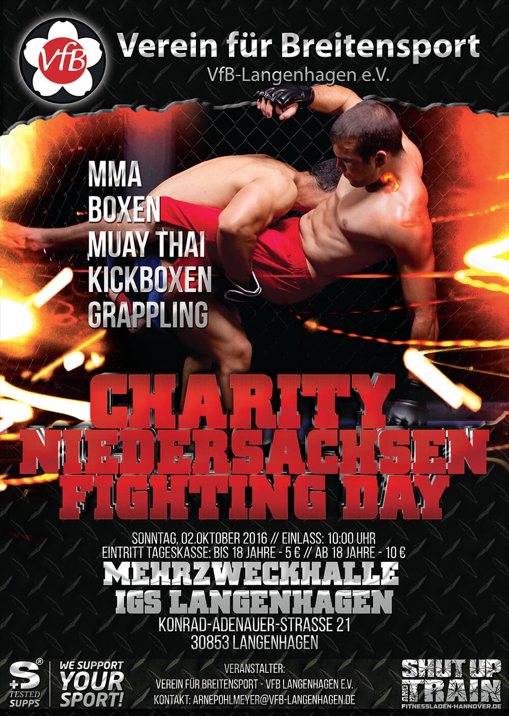 VFB Charity Fighting Day