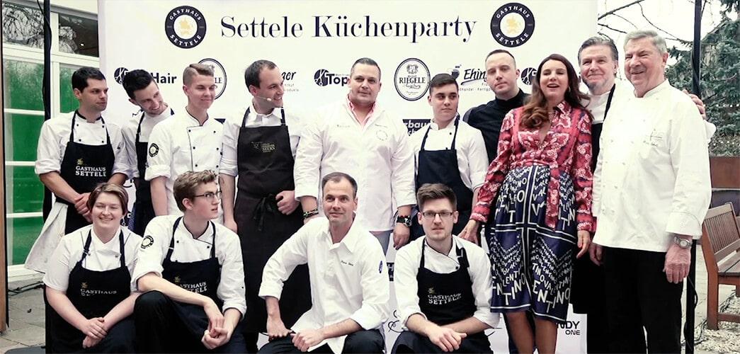 Gasthaus Settele Küchenparty 2019